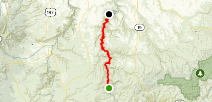 John Day River: Clarno to Cottonwood Map