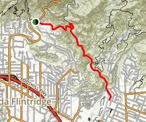 Gould Mesa Trail Campground Trail Map
