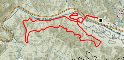 Davidson River Recreation Area Trail Map