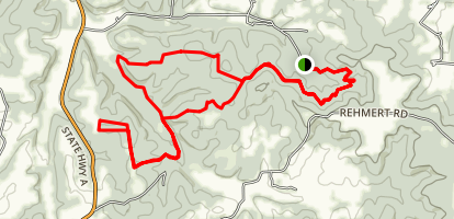 Canaan Conservation Area Trail Loop Map