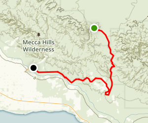 Meccacopia Trail Map