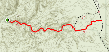 Little Box Canyon Trail Map