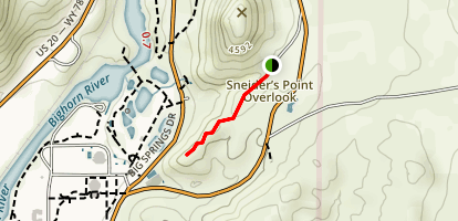 Sneiders Point Overlook Map