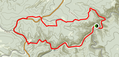 Rimrock Trail Lower Loop Map