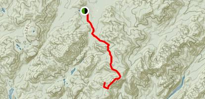 Van Hoevenberg Trail To Gray Peak Map