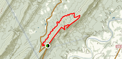 Kennedy Peak Trail Map