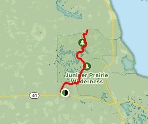 Ocala National Recreation Area Trails Map