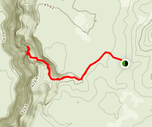 Parker Trail to Big Jacks Creek Map