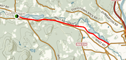 Goffstown Rail Trail Map