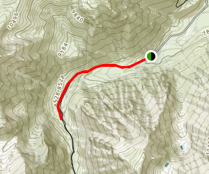 McGree Creek to Horsetail Creek Map