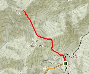 James Peak Via Powder Mountain Ski Area Trails Map