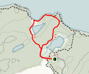 Georgian Bay - Marr Lake Trail Map