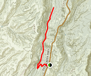 Ten Mile House Road (Upper Park) Map