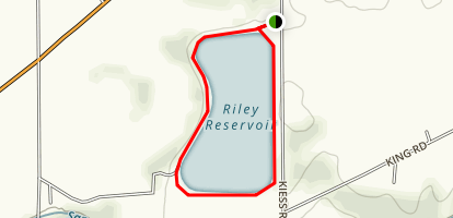 Riley Reservoir Map