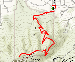 Angel Vista (Rosewood Trail) Map