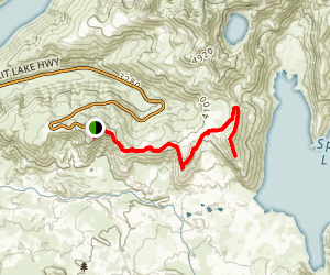Harrys Ridge Trail Map