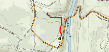 Westcave Preserve Trail Map