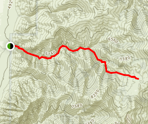 Rebel Creek Trail Map
