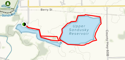 Upper Sandusky Reservoir Trail - Ohio | AllTrails on boise ohio map, white cottage ohio map, south bass island ohio map, ohio on us map, wapakoneta ohio map, northfield ohio map, east canton ohio map, ohio county map, st bernard ohio map, flint ohio map, lawrence ohio map, pleasant ridge ohio map, ohio ohio map, destination point map, stark ohio map, alliance ohio map, southeastern ohio map, pike ohio map, parma hts ohio map, sandusky minnesota map,