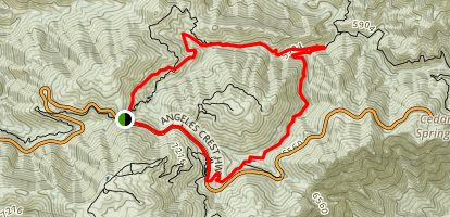 Cooper Canyon Falls Trail Map
