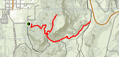 Flat Top Trail Map