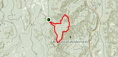 Cooley Glen and Emily Proctor Trails Map