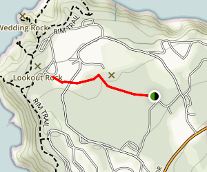 Ceremonial Rock Trail Map