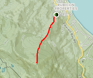 Rubicon Peak Trail Map