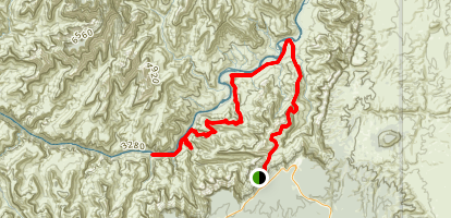 The Escalante Route Trail Map