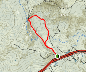 Castle Valley Loop Trail Map