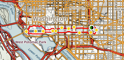 The National Mall District Of Columbia Maps Photos Reviews - Washington dc mall map pdf