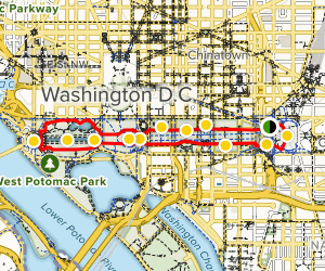 The National Mall Map
