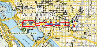Mall Dc Map.The National Mall District Of Columbia Alltrails