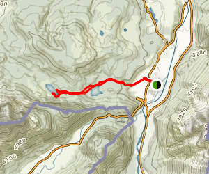 Lautersee and Ferchensee Lakes Loop Map