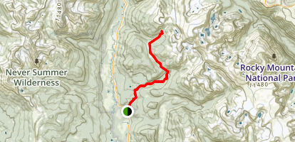 Timber Creek Trail Map