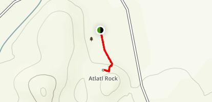 Atlatl Rock Map