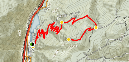 Saxon Mountain Map