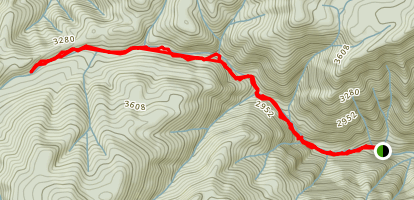 Higgins Creek Trail Map