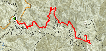 Roundtop / Mt. Pacifico Map