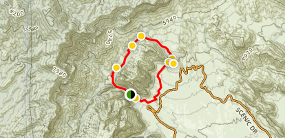 White Rock Hills Loop Trail Map