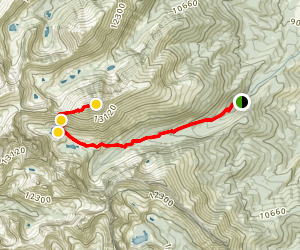 Humboldt Peak Trail Map