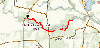 Rio Medina Trail Map