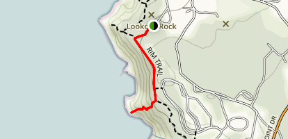 Abalone Point Trail Map