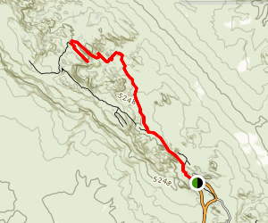 Private Arch Trail Map