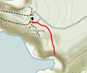 Octopus Tree Trail Map