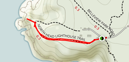 North Head Lighthouse Trail Map