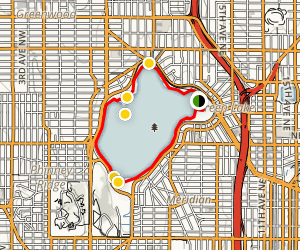 Green Lake Loop Trail Map