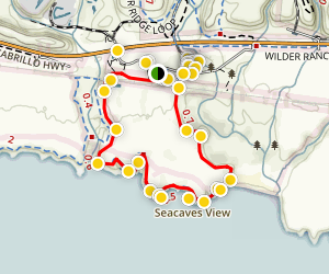 Old Landing Cove Trail Map