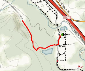 Hunter's Creek Trail Map