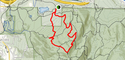 Nook Trail to West Tiger Three Trail Map